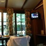 Hotel Disneyland Paris Davy Crockett Salon et télé