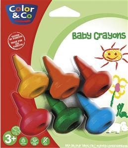Baby crayons<br/>De la couleur au bout des doigts de bébé