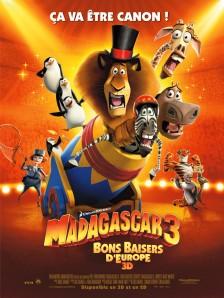 MADAGASCAR 3, Bons Baisers d'Europe 3D