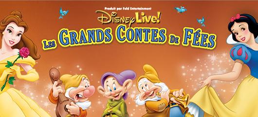 Disney Live! Les grands contes de fées